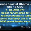 The Formal Federal Charges Against Obama
