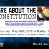 Dr. Manning Speaks at the Constitutional Elections Summit in Dallas, Texas on 26 May 2012