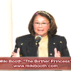 Miki Booth The Birther Princess Speaks in Harlem