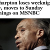 Sabbath Lafleur: Al Sharpton Gets The Left Boot