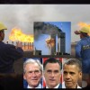 Mitt Romney And The Bushes Trying To Protect 911, Obama And Saudi Oil Money