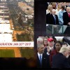 Small Crowd And Body Language At Tribulation Trump Funeral