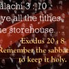 The Richest People Tithe And Keep The Sabbath