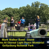 Mark Walker And The Christian Rock Band Stand At Gettysburg
